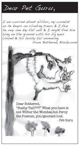 Dear Pet Guru: AprMay '09