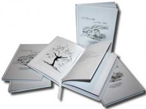 """""""A Poet's Lie"""" hardcover book"""