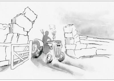 """""""To Hadrian's Wall"""" by Brendan Hehir"""