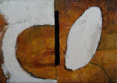 """Draughting"" acrylic on canvas by Brendan Hehir"