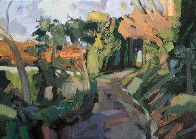 """Kate's Lane"" acrylic on canvas by Brendan Hehir"