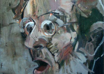 """Hickey's Stout"" acrylic on canvas by Brendan Hehir"
