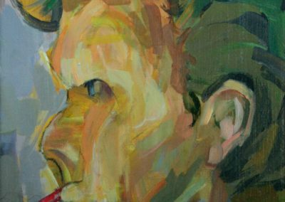 """Jason"" acrylic on canvas by Brendan Hehir"